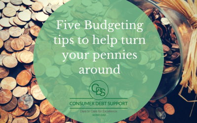 Five Budgeting tips to help turn your pennies around
