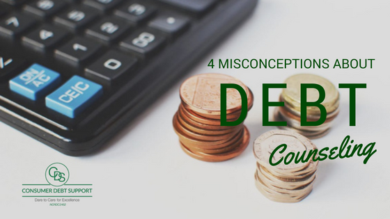 4 Misconceptions about Debt Counselling
