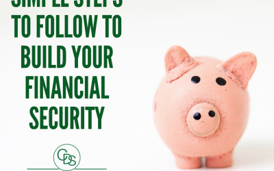 Simple Steps to follow to build your financial security