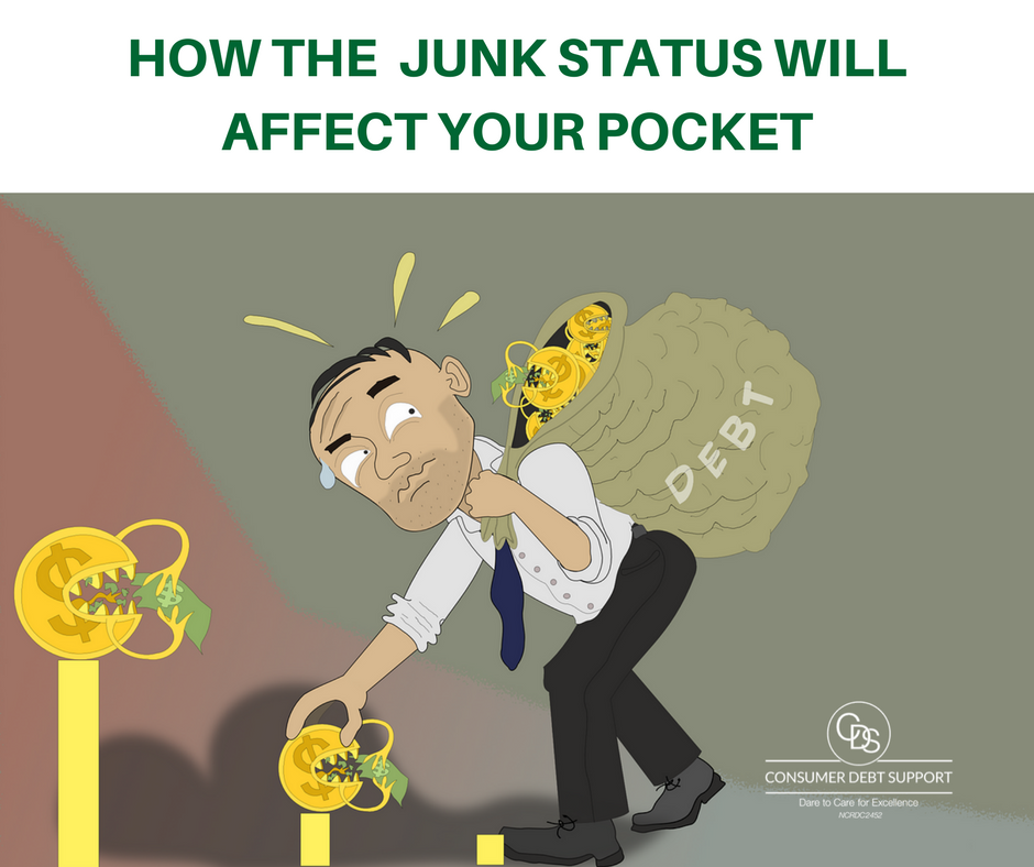 How the Junk Status will affect your pocket