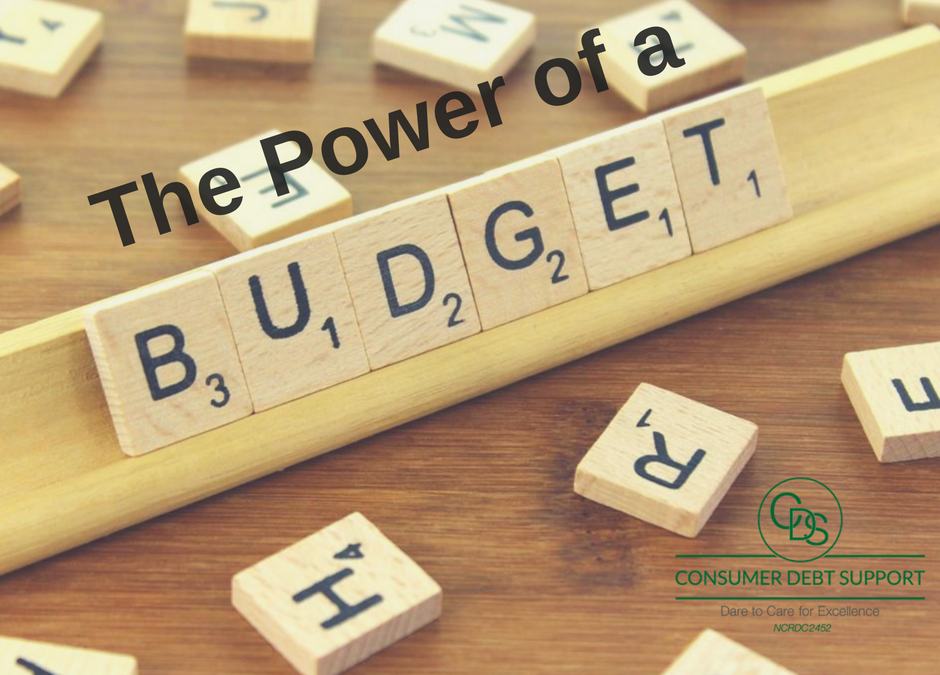 The Power of a monthly budget and the benefit of budgeting