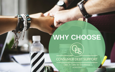 Why choose Consumer Debt Support