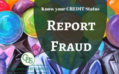 Health status of a credit report