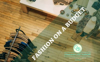 You can dress fashionable within a tight budget