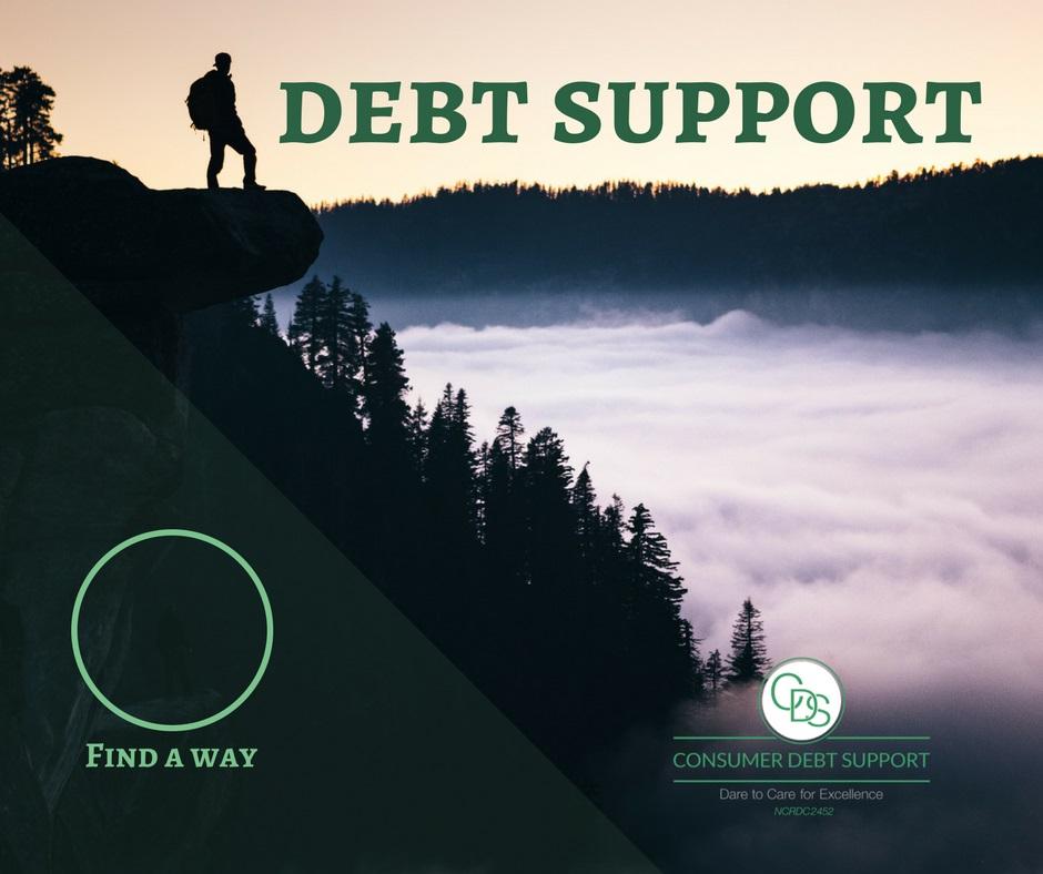 get debt support