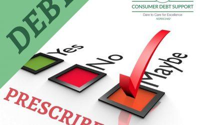 Know when debt prescribed or unprescribed?