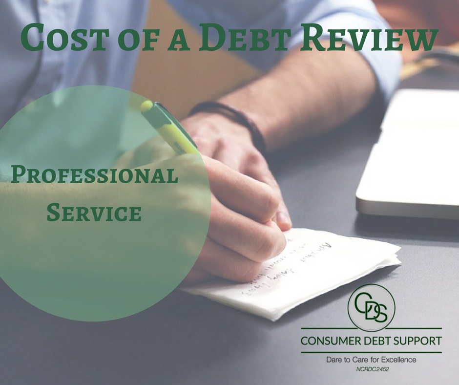 Cost of a Debt Review