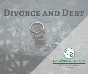 Divorce and Debt