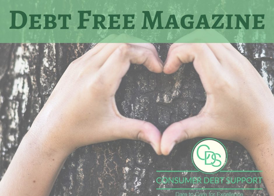 How CDS debt counselor and author uses the Debt Free Magazine