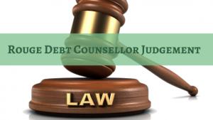Rogue Debt Counsellor Judgement